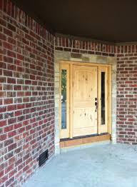 exterior design palladian front door with acme brick colors for
