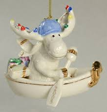 Lenox Christmas Ornaments 2013 by Lenox Annual Moose Ornaments At Replacements Ltd
