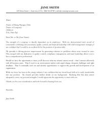 Cover Letter Sample Cover Letter Samples Of Cover Letter