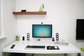 Office Room Design Ideas White Office Desk Sets For Perfect Stylish Office Room Hupehome