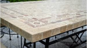 Tile Top Dining Tables Awesome Tile Top Patio Table Photos Decor U0026 Home Ideas Frases Us