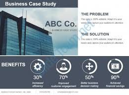 templates for powerpoint presentation on business business case study template ppt template presentation sle of