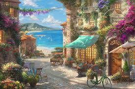 country cabin u0026 lodge paintings paintings u0026 art thomas kinkade