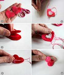 ponytail holder and loisdiy valentines heart ponytail holder