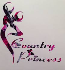 pink camo country princess car truck vinyl decal 5