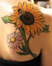 girly sunflower tattoos creativefan