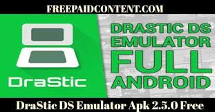 drastic ds android apk drastic ds emulator apk 2 5 0 freepaidcontent