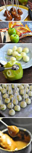22 diy halloween party ideas for kids mini caramel apples easy