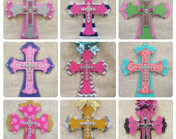 decorative cross hand painted wooden cross wooden decor