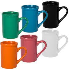 bulk solid ceramic mugs 16 oz at dollartree