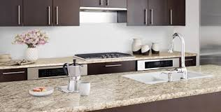 white kitchen countertops with brown cabinets countertop replacement kitchen design services in