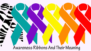 copd ribbon awareness ribbon colors what do they the unchargeables
