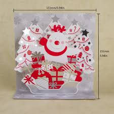 aliexpress com buy 3d new year and merry christmas greeting card