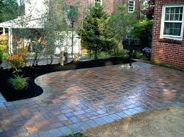 Patio Paver Installation Cost Flagstone Patio Pavers How To Install Paver Cost