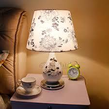 Bedroom Table Lamps Elegant Bedroom Table Lamps Porcelain Carving Fixture