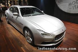 2018 maserati quattroporte showcased at iaa 2017 live