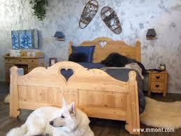linge de lit style chalet montagne chambre style montagnard u2013 chaios com