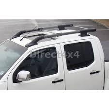porta sci per auto per nissan navara d40 stile oe barre mancorrenti tetto porta sci