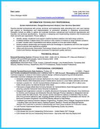 Best System Administrator Resume by Resume System Analyst Resume For Your Job Application