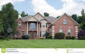 country estate brick house stock images image 33599894