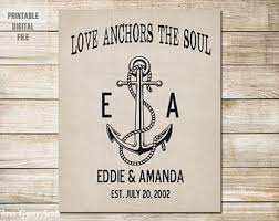 Love Anchors The Soulnautical Anchor - love anchors the soul pillow cover personalized pillow cover