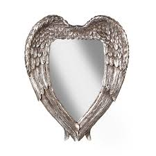 angel wings mirror antique mirror shabby chic mirrors the
