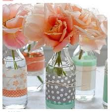 Diy Flower Centerpiece Ideas by 277 Best Diy Vases Images On Pinterest Flowers Flower