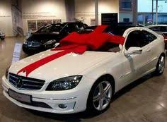 bows for cars presents celebrate a new car with a big bow here s how to make one http