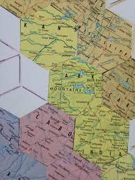 Montana State Map Montana State Map Green Hexagon Map Of Alabama