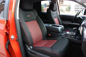 toyota tundra trd pro interior 2015 tundra trd pro how does it stack up road xtreme