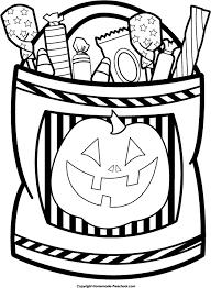 halloween bag candy clipart clipartxtras