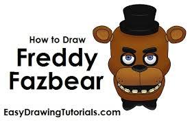 draw freddy fazbear