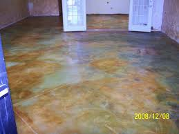 flooring staining basement concrete floors cost diy indoors of