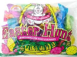 easter marshmallow candy easter hunt marshmallow bunnies and eggs 3 lb candy favorites