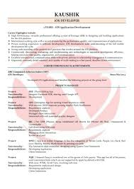 Resume Format For Jobs In Singapore by Ios Developer Sample Resumes Download Resume Format Templates
