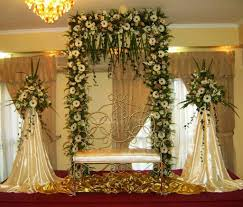 church wedding decorations altar flowers spray church wedding
