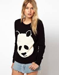 panda sweater asos asos paul the panda sweater