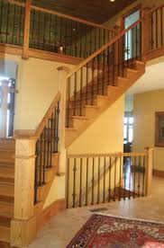 Replacement Stair Banisters Custom Interior Stair Rails Maryland Rail Systems Interior