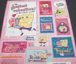 spongebob valentines day cards spongebob squarepants s day cards thin