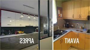 repeindre sa cuisine remplacer porte cuisine fasciné repeindre sa cuisine avant apres