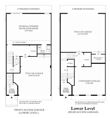 Level Floor by Ravenscliff At Media Townhomes Quick Delivery Home Bradbury