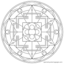 mandala coloring page sacred rooms from geometrycoloringpages com