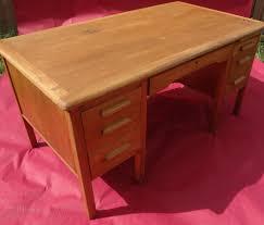 Oak Office Desks Antiques Atlas Vintage Oak Office Desk