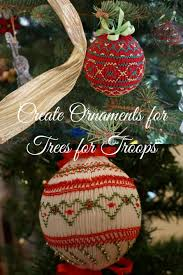smocking ornaments for trees for troops pink hollybush designs