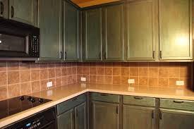 kitchen tile backsplash design with wooden repainting kitchen