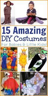 Homemade Baby Halloween Costume 50 Easy Diy Halloween Costumes Kids Costume Tutorial