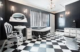 Black And White Checkered Tile Bathroom 20 Stunning Art Deco Style Bathroom Design Ideas