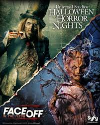 universal studios halloween horror nights 2015 face off