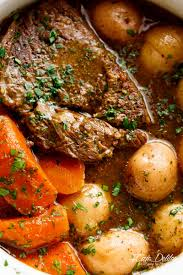 Balsamic Roast Beef In Oven Slow Cooked Balsamic Pot Roast Slow Cooker Instant Pot Or Oven