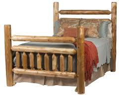 Log Bed Pictures by Log Cabin Beds Rustic Bed Frames Rocky Top Furniture